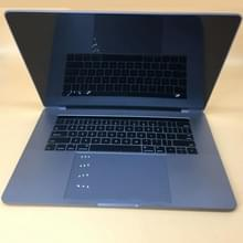 Dark Screen Non-Working Fake Dummy Display Model voor MacBook Pro 15 4 inch A1990 (2018) / A1707 (2016 - 2017)(Grijs)