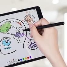 P3 Voor iPad Tablet PC Anti-mistouch Active Capacitieve Pen Stylus Pen (Zwart)
