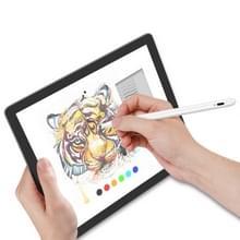 1 4-2 3 mm Superfijnpunt voorkomen dat per ongeluk touch handgeschreven capacitieve scherm stylus pen (wit)