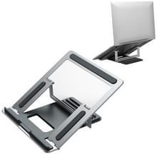 CCT8 Portable Verstelbaable Aluminium Alloy Desktop Holder Bracket for Laptop Notebook (Silver)