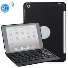F1 voor iPad Mini 3/2/1 laptop versie kunststof Bluetooth toetsenbord beschermhoes (zwart)