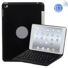 F1 + voor iPad Mini 4 laptop versie kunststof Bluetooth toetsenbord beschermhoes (zwart)