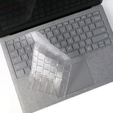 Laptop TPU waterdichte stofdicht transparant toetsenbord beschermfolie voor Microsoft Surface gaan 10 inch