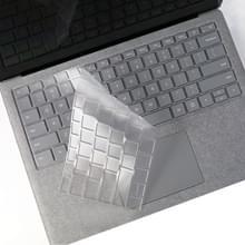 Laptop TPU waterdichte stofdicht transparant toetsenbord beschermfolie voor Microsoft Surface Book 2 15 inch