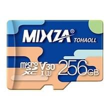 MIXZA 256GB hoge snelheid Class10 kleurrijke TF (micro SD) geheugenkaart