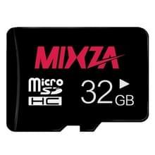 MIXZA 32GB hoge snelheid Class10 Black TF (micro SD) geheugenkaart