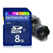 Mircodrive 8GB High Speed Class 10 SD geheugenkaart voor alle digitale apparaten met SD-kaart Slot