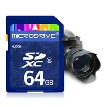 Mircodrive 64GB High Speed Class 10 SD geheugenkaart voor alle digitale apparaten met SD-kaart Slot