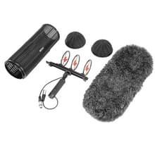 BOYA door-WS1000 professionele voorruit en het systeem inzake schorsing voor Shotgun microfoons