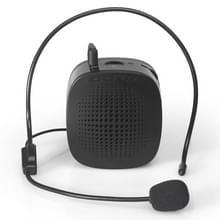 Azongen S1015 5W multifunctionele draagbare weinig Bee stem versterker spreker met bedrade microfoon voor leraar / toeristische gids  steun TF kaart & Audio ingang Function(Black)