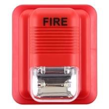 Geluid-Light Fire Alarm waarschuwing strobe Horn alert veiligheidssysteem sensor