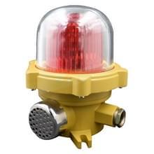 BJJ-2 220V 120 decibel explosieveilige Geluidslicht alarm LED signaal waarschuwings apparaat