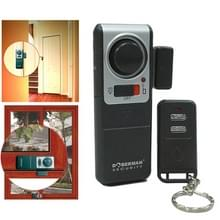 DOBERMAN SE-0137 4 in 1 huishouden anti-diefstal deur en raam magnetische voorjaar sensor Super luid eenvoudig alarm set