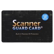 Scanner Guard Card RFID-blokkerende kaart  ingebouwde gepatenteerde ID-bescherming