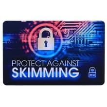 Beschermen tegen het afromen van RFID Card blokkeren