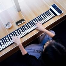 Vvave 61 toetsen hand Roll elektronische piano (zwart)