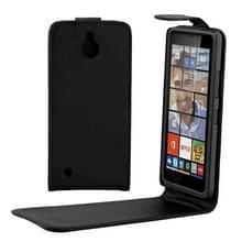 Microsoft Lumia 850 vertikaal PU leren Flip Hoesje met magnetische sluiting