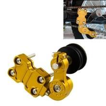 HC154 motorfiets gemodificeerde accessoires universele aluminiumlegering Chain Adjuster (goud)