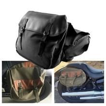 MB-OT298 Motorfiets accessoires gewijzigde kant van de doos Canvas Bag Knight Bag Kit (Zwart)