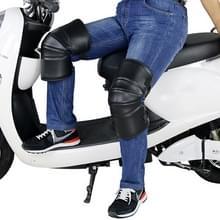 1 paar motorfiets Kneepad Windproof opwarming van de aarde knie beschermers benen beschermer verdikking koude-proof