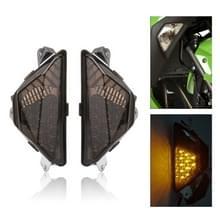 Speedpark Motorfiets Gewijzigd Front Turn Signal Licht voor Kawasaki Ninja 250/300 13-16