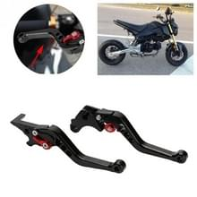 Speedpark Motorfiets Gewijzigd verstelbare remkoppeling handgreep voor Honda GROM MSX125 (Zwart)