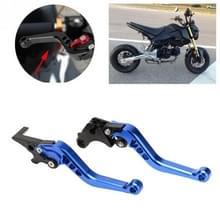 Speedpark Motorfiets gewijzigd verstelbare remkoppeling handgreep voor Honda GROM MSX125 (Blauw)