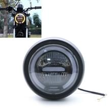 Motorfiets 5.75 inch Harley Headlight Retro Lamp LED Light Modification Accessoires (Wit)