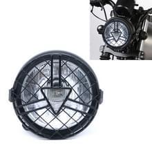 Motorfiets Arrowhead Reticular Retro Lamp LED Koplamp Modificatie Accessoires voor CG125 / GN125 (Wit)