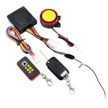 Motorfiets slimme unidirectionele Security alarm systeem met afstandsbediening/opvouwbare sleutel  zonder batterij