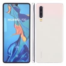 Kleurenscherm niet werkend nep dummy display model voor Huawei P30 (wit)