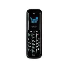 GTStar BM50 Mini mobiele telefoon  handen gratis Bluetooth Dialer hoofdtelefoon  MP3-muziek  Dual SIM  Network: 2G(Black)
