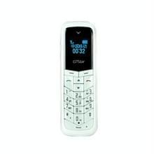 GTStar BM50 Mini mobiele telefoon  handen gratis Bluetooth Dialer hoofdtelefoon  MP3-muziek  Dual SIM  Network: 2G(White)