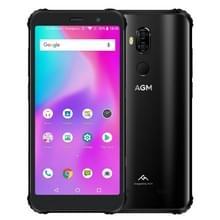 AVA X 3 Rugged Phone  8 GB + 64 GB  IP68 waterdichte stofdicht Shockproof  gezicht ID & fingerprint identificatie  4100mAh accu  5.99 inch Android 8.1 Qualcomm SDM845 Octa Core  netwerk: 4G  OTG  NFC  draadloos Charging(Black)