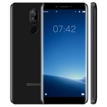 DOOGEE X60L  2 GB + 16 GB  Dual back camera's  DTouch Fingerprint identificatie  5.5 inch Android 7.0 MTK6737V Quad Core tot 1.3 GHz  netwerk: 4 G  OTA  dubbele SIM(Black)