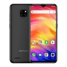 Ulefone toelichting 7  1 GB + 16 GB  Triple back camera's  gezicht ID identificatie  6.1 inch Android 8.1 gaan MTK6580A Quad-core 32-bits tot 1.3 GHz  Network: 3 G  Dual SIM (zwart)