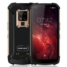Conquest S16 Walkie Talkie Rugged Telefoon  8GB+256GB  Geen ondersteuning voor Google Play  48MP Triple Back Camera  6000mAh batterij  IP68 Waterdicht stofdicht schokbestendig  vingerafdrukidentificatie  6 3 inch Android 9.0 MTK6779VCE Helio P90 Octa Core