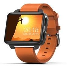 DOMINO DM99 slimme horloge telefoon  1GB + 16GB  2 2 inch Android 5 1  MTK6580 Quad Core 1.3 GHz  netwerk: 3G  1.3 MP camera/hartslag/stappenteller/GPS/WiFi/Bluetooth (Orange)
