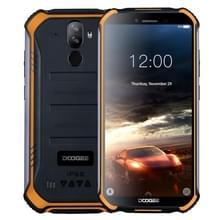 DOOGEE S40 Rugged telefoon  2GB + 16GB  IP68/IP69K waterdichte stof schokbestendig  MIL-STD-810G  4650mAh batterij  Dual back camera's  gezicht & vingerafdruk identificatie  5 5 inch Android 9 0 Pie MTK6739 Quad-Core tot 1 5 GHz  netwerk: 4G  NFC (oranje)