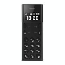 AEKU A5 kaart mobiele telefoon  0.96 inch  MTK6261D  steun Bluetooth  FM  externe positie  anti-verloren  GSM(Black)