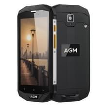 AVA A8 Triple taalprogramma telefoon  4 GB + 64 GB  EU versie  4050mAh batterij  IP68 waterdichte stofdicht schokbestendig  5.0 inch Android 7.0 Qualcomm MSM8916 Quad Core  netwerk: 4 G  Dual SIM  OTG  NFC(Black)
