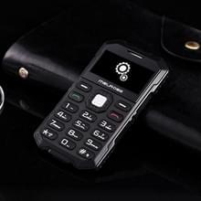 Melrose S2 Triple taalprogramma kaart mobiele telefoon  stofdicht Shockproof veiligheidsmaterialen-bestendig  1 7 inch  MTK6260DA  21 sleutels  Bluetooth  FM  0.3MP Camera  GSM (zwart)