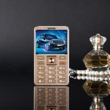 SATREND A10 kaart mobiele telefoon  1 77 inch  MTK6261D 21 sleutels  steun Bluetooth  MP3  anti-verloren  Remote vangen  FM  GSM  dubbele SIM(Gold)