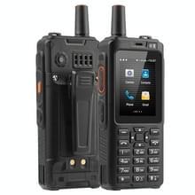 UNIWA F40 POC Walkie Talkie Rugged Phone  1GB+8GB  IP65 Waterproof Dustproof Shockproof  4000mAh batterij  2 4 inch Android 6.0 MTK6737 Quad Core  Netwerk: 4G  PTT(Zwart)