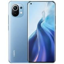 Xiaomi Mi 11 5G  108MP Camera  8GB+128GB  Triple Back Camera's  4600mAh batterij  in-screen vingerafdrukidentificatie  6 81 inch 2K AMOLED MIUI 12 Qualcomm Snapdragon 888 5G Octa Core tot 2 84 GHz  Hartslag  Netwerk: 5G  NFC(Blauw)