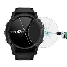 ENKAY Hat-Prins voor 42mm Diameter circulaire Dial Smart Watch 0.2mm 9H oppervlaktehardheid 2.15D gebogen explosieveilige gehard glas scherm Film