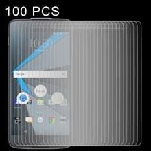 100 stuks 0 26 mm 9H 2.5D getemperd glas Film voor Blackberry DTEK50