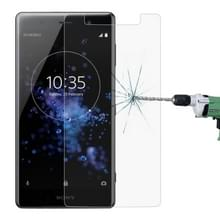 0 26 mm 9H 2.5D getemperd glas Film voor Sony XZ2 Premium