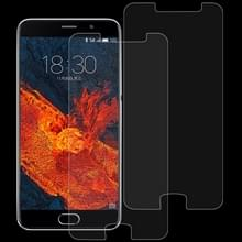 2 stk 0 26 mm 9H 2.5D getemperd glas Film voor Meizu PRO 6 Plus