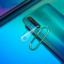Voor vivo Z1 Pro 0 3 mm metalen cameralensring achter + cameralens gehard glas (blauw)